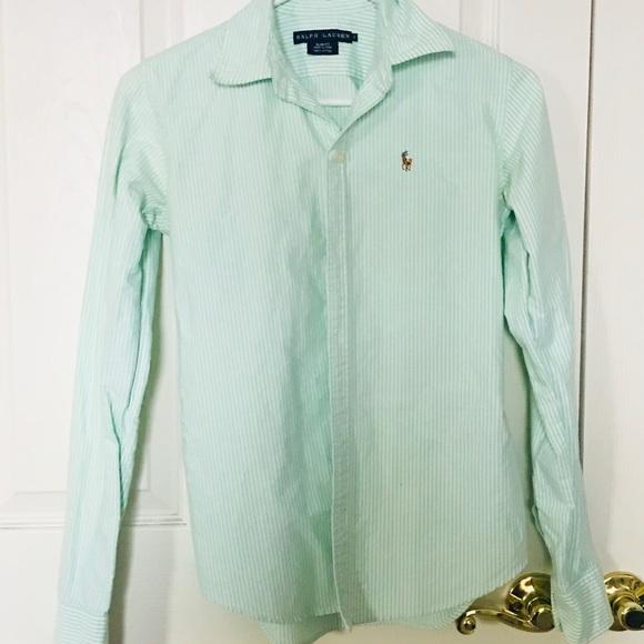 3c3e95efb Ralph Lauren Tops | Womens Button Down Oxford Shirt | Poshmark